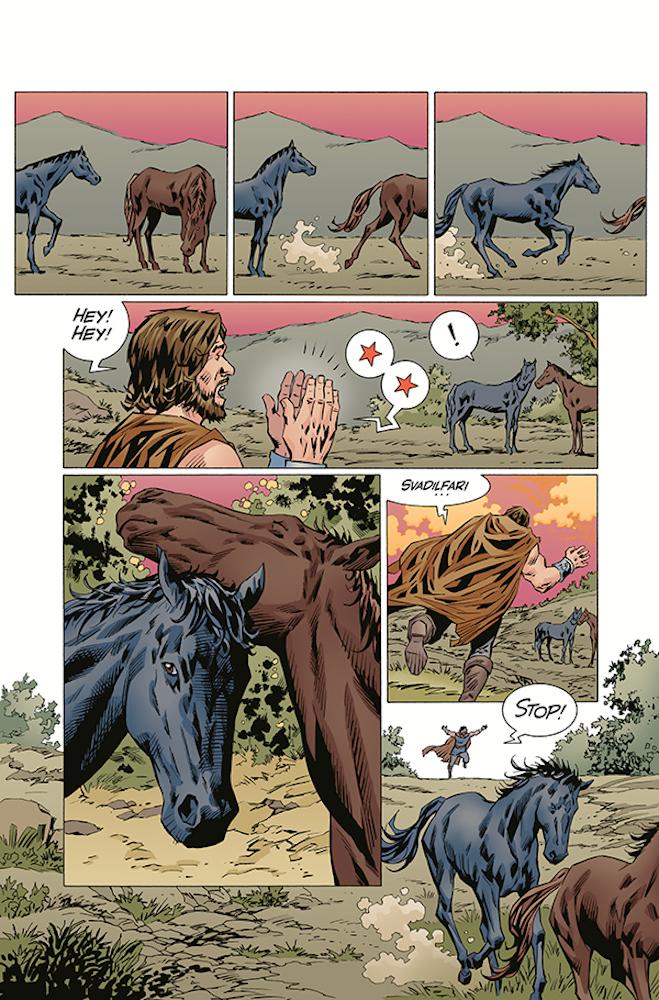 Review: Norse-Mythology-#4-Seduction-Of-A-Horses-DC-Comics-News-Reviews