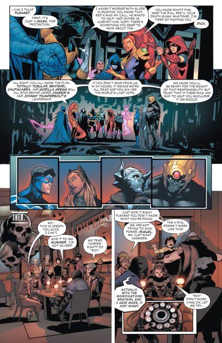 Future State Teen Titans 2 p 4 DC Comics News