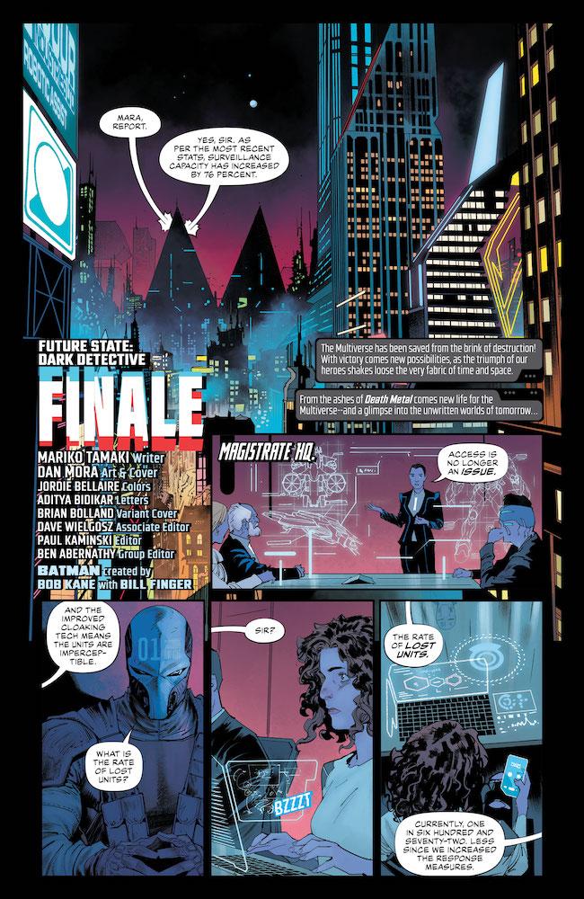 Review Future State Dark Detective #4 DC Comics News Reviews