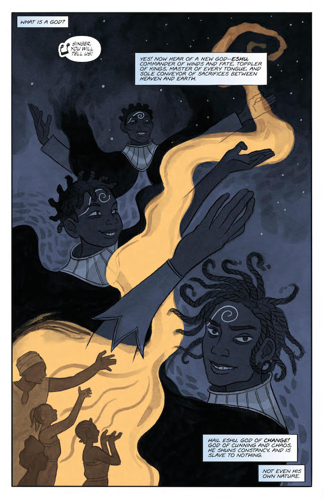 Eshu God of Change Indie Comics Review Jim Henson Storyteller Tricksters #2 DC Comics News
