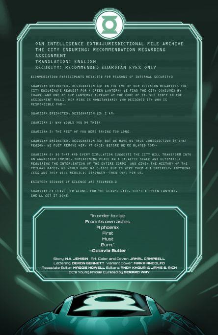 DC Comics News Far Sector 11