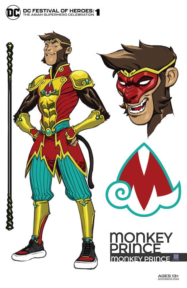 Review: DC Festival of Heroes: The Asian Superhero Celebration #1 Monkey Prince DC Comics News DC Comics Reviews
