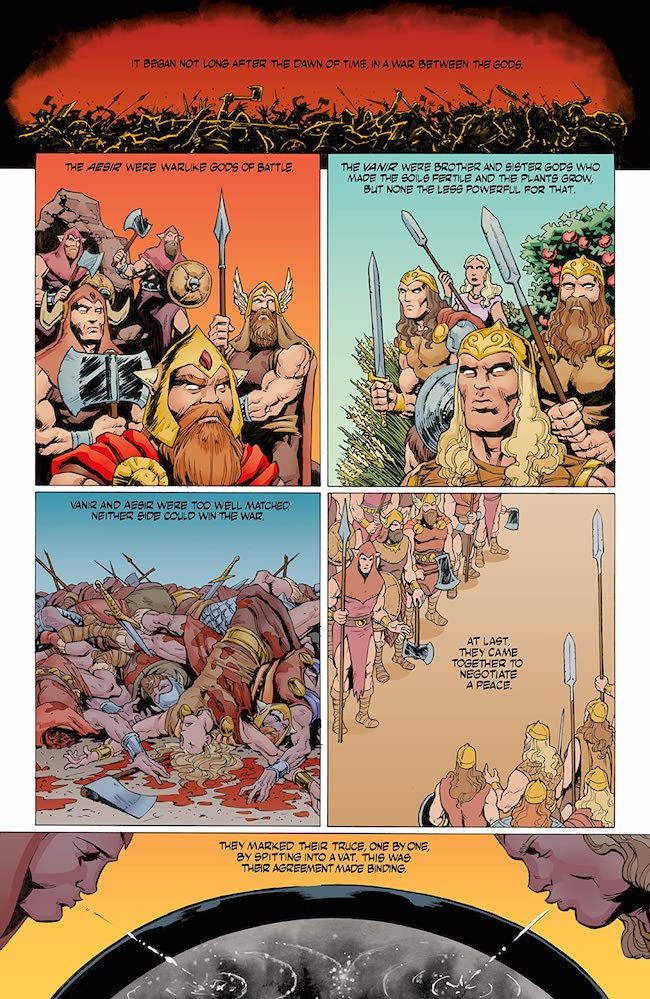NORSE MYTHOLOGY II #1 Where Poetry Comes From