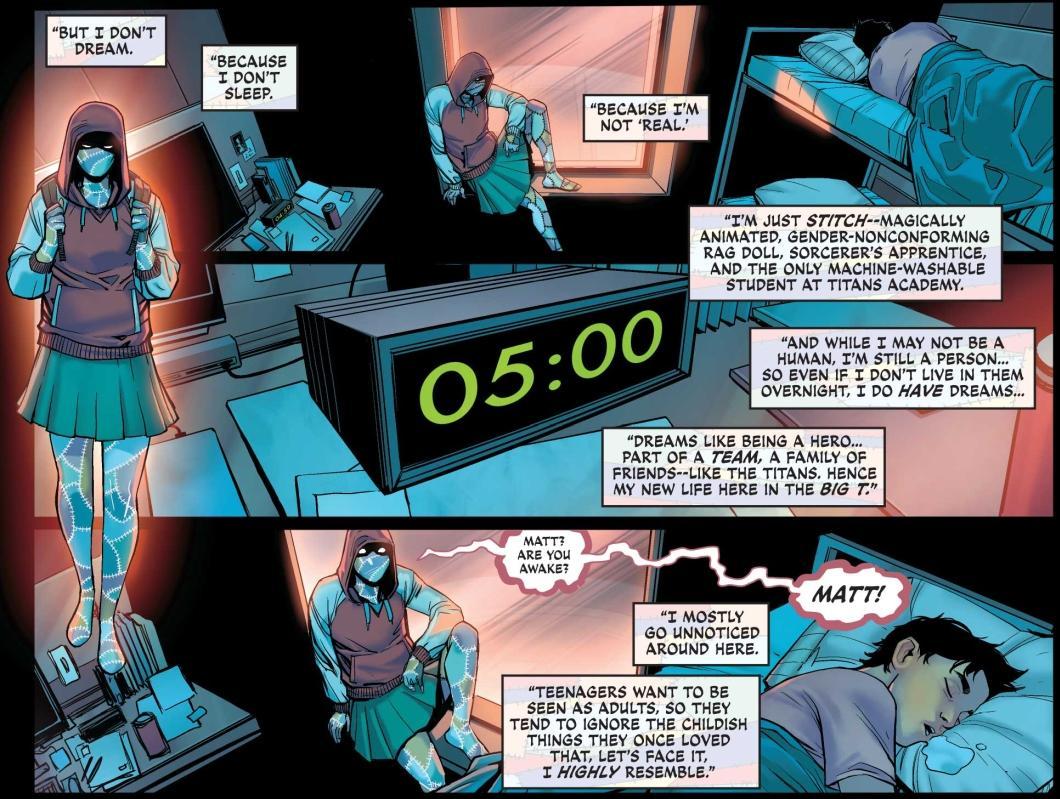 Teen Titans Academy 2021 Yearbook #1 - DC Comics News
