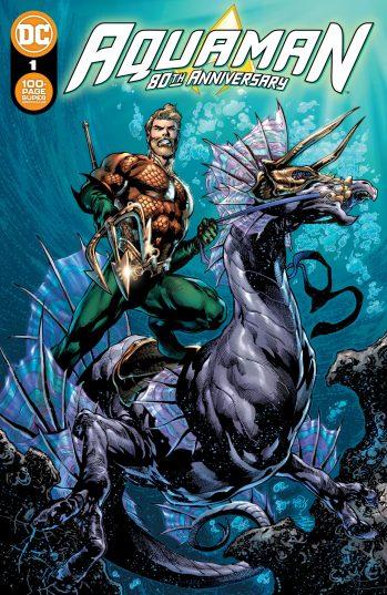 Aquaman 80th Anniversary Main Cover DC Comics News