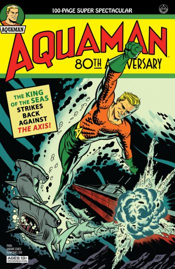 Aquaman 80th Anniversary Cho DC Comics News
