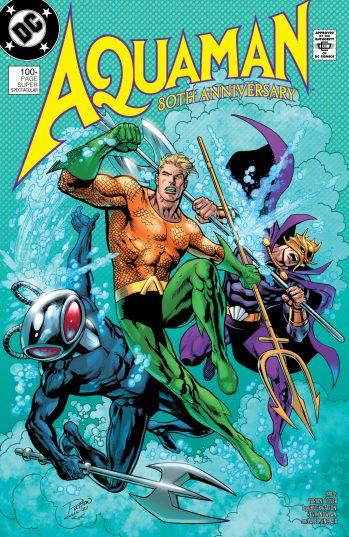 Aquaman 80th Anniversary Patton DC Comics News