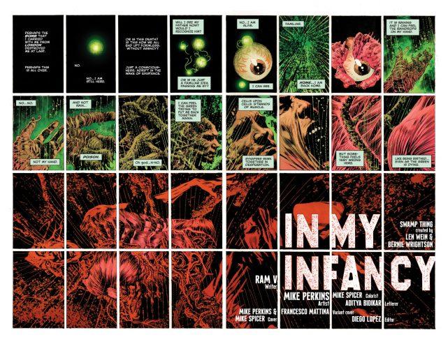The Swamp Thing #6 DC Comics News