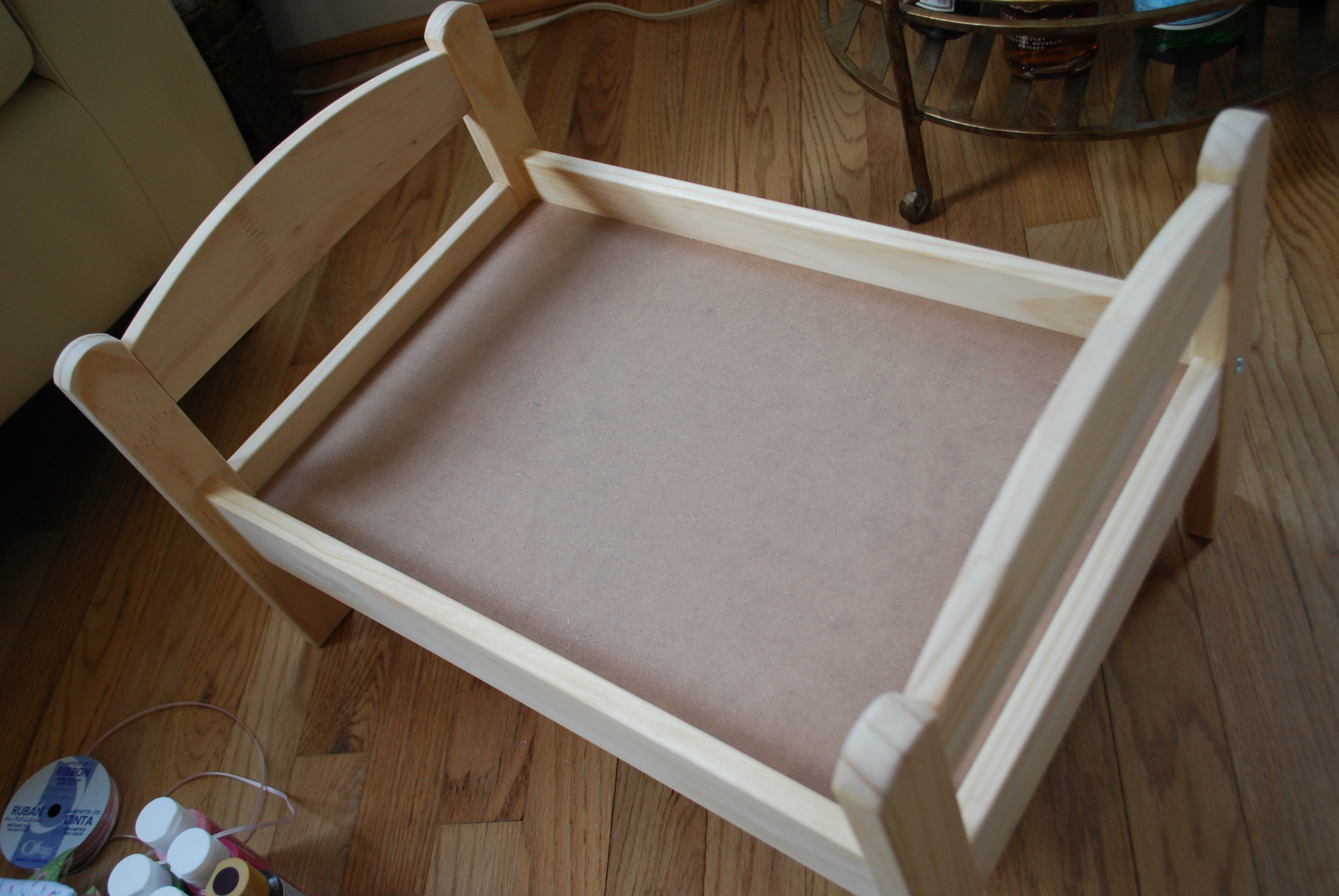 Baby Doll Bed Pattern Plans Diy Free Download Scroll Saw
