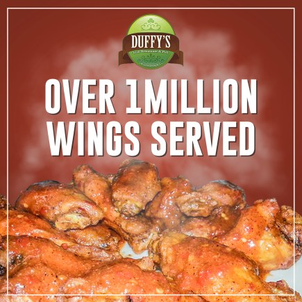 Over 1 Million Wings Served
