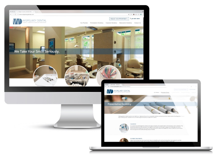 web design for dentists