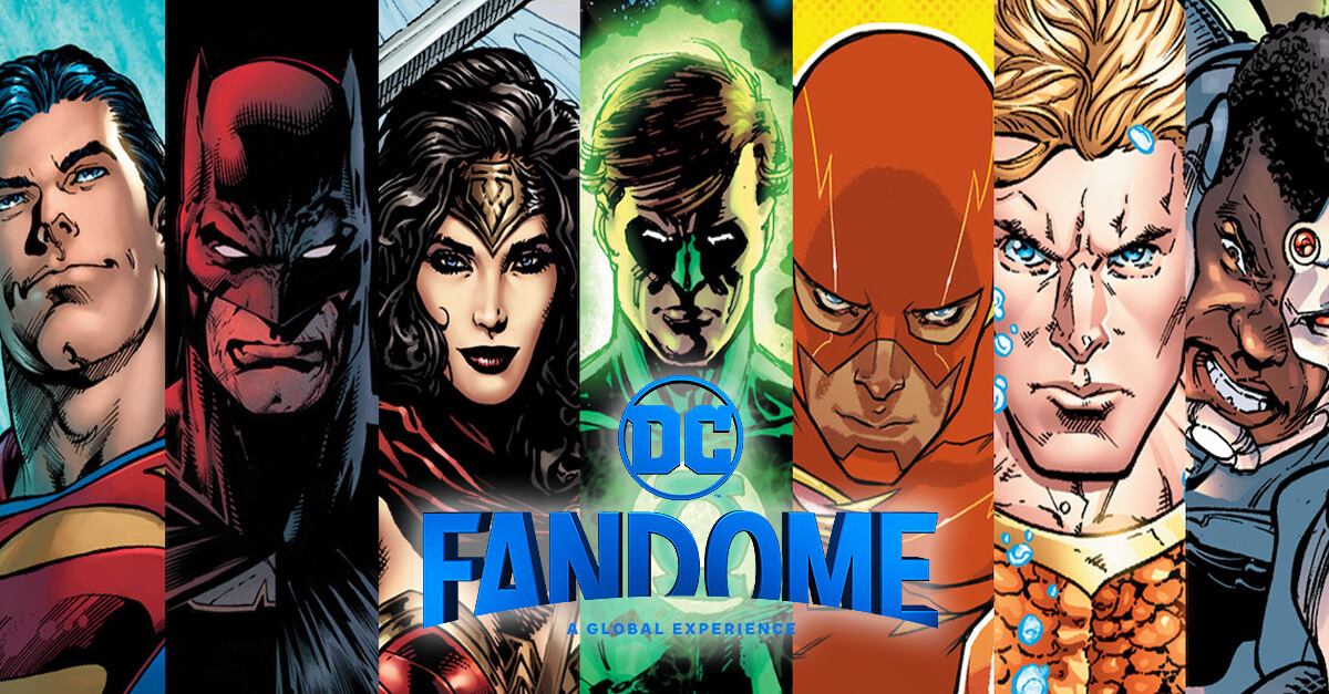DC FanDome | Create work for the virtual DC FanDome event in August