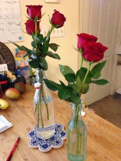 Trev bought me red roses because he knows they're my favorite. He is the best boyfriend a girl could ask for.