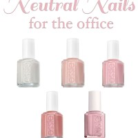 neutral nails for the office