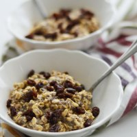 Oatmeal Cookie Overnight Oats