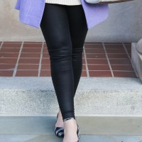 5 Faux Leather Leggings for the Holidays