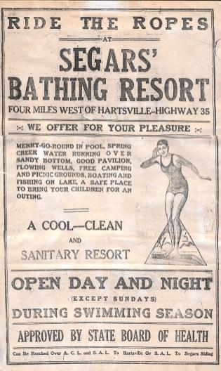 Copy of Segar's Bathing Resort - Hartsville
