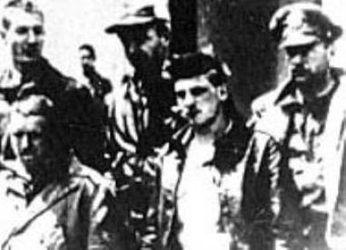 The crew of Lt. Farrow's plane after being captured