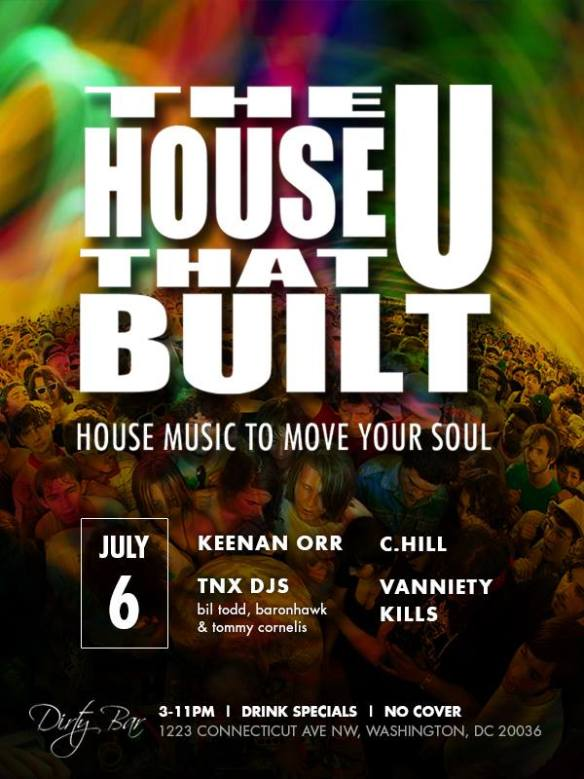 The House That U Built July 7