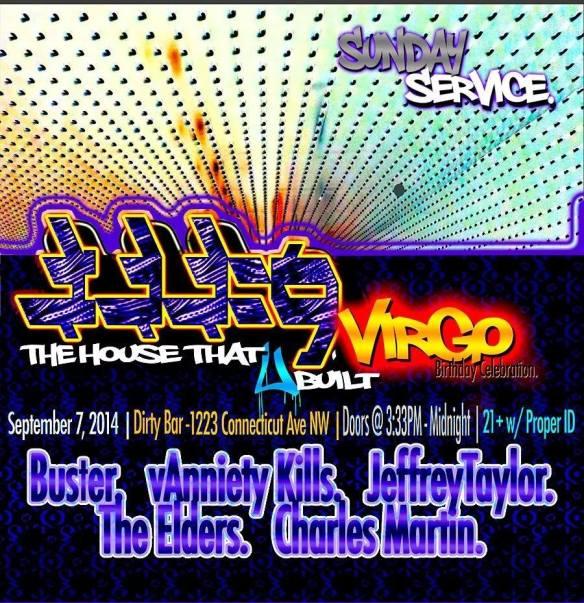 3:33=9. The House That U Built Virgo Birthday Extravaganza!