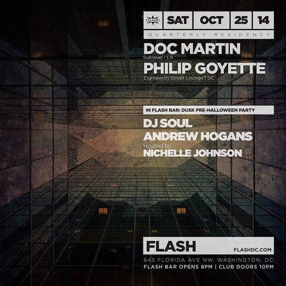 Doc Martin and Philip Goyette at Flash