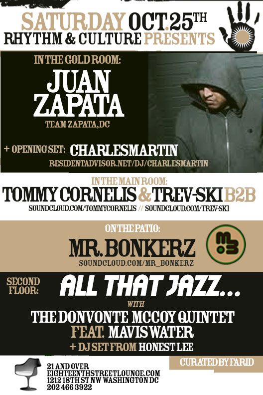 ESL Saturdays: Rhythm & Culture presents Juan Zapata and Charles Martin