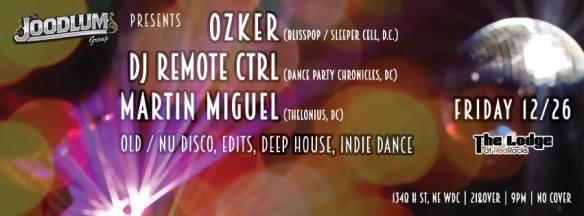 Ozker, DJ Remote Ctrl & Martin Migual at The Lodge At Redrocks
