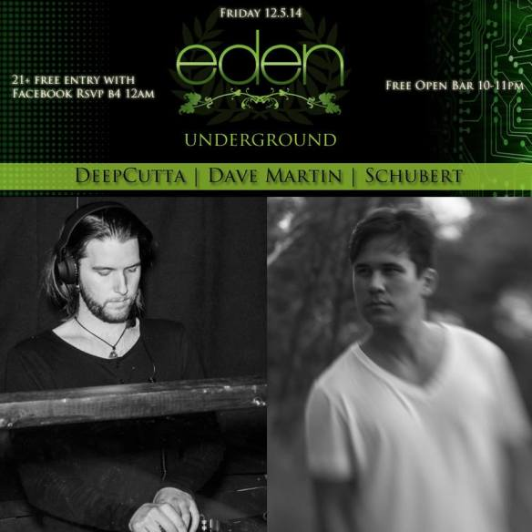 Eden Underground by DeepCutta Feat. Dave Martin & Schubert [SCI+TEC]