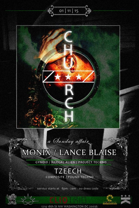 Church Presents Monix at Public Bar