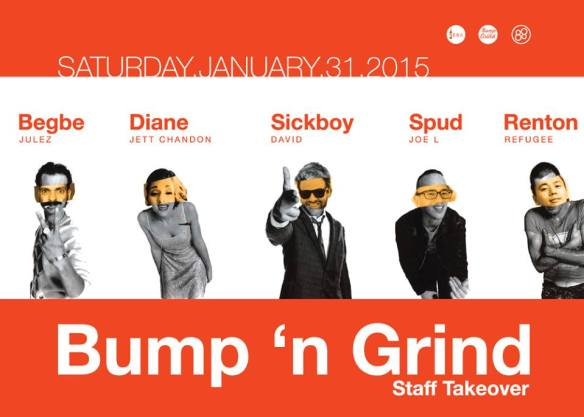 Bump 'n Grind Staff Takeover at Zeba Bar