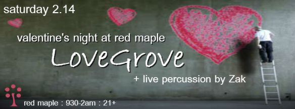 Deep & Sexy Valentine's Night with DJ LoveGrove at the Red Maple, Baltimore