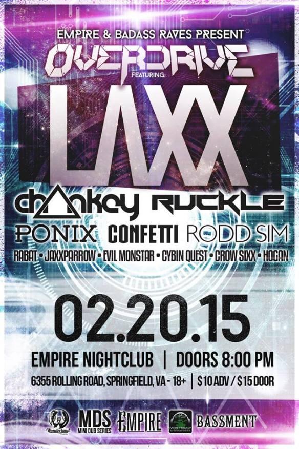LAXX at Empire Nightclub