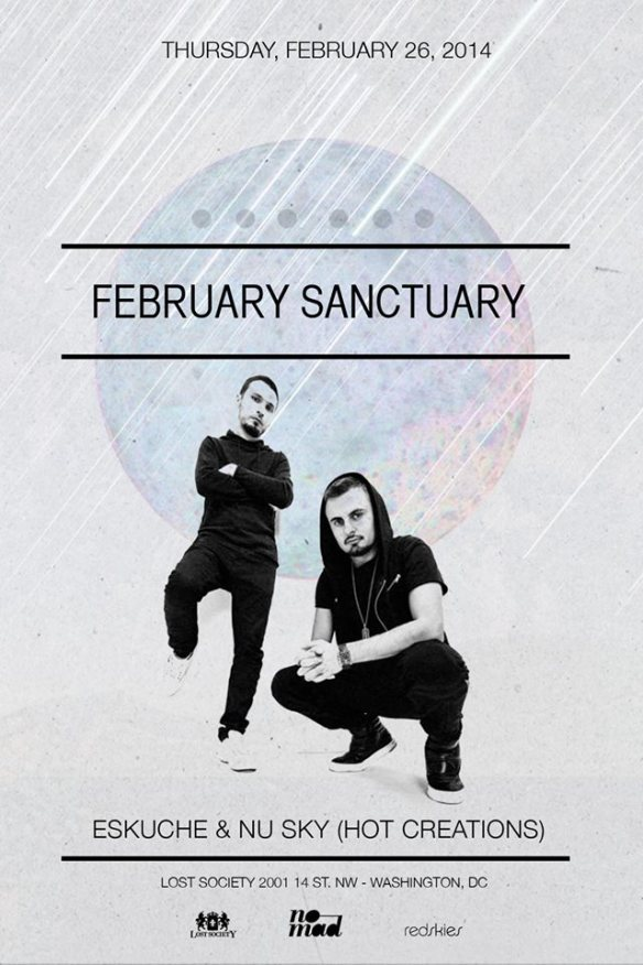 Lost on Thursdays: February Sanctuary feat. Eskuche & Nu Sky (Hot Creations) at Lost Society