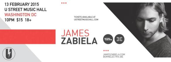 James Zabiela with DJ Lisa Frank, Sumner at U Street Music Hall