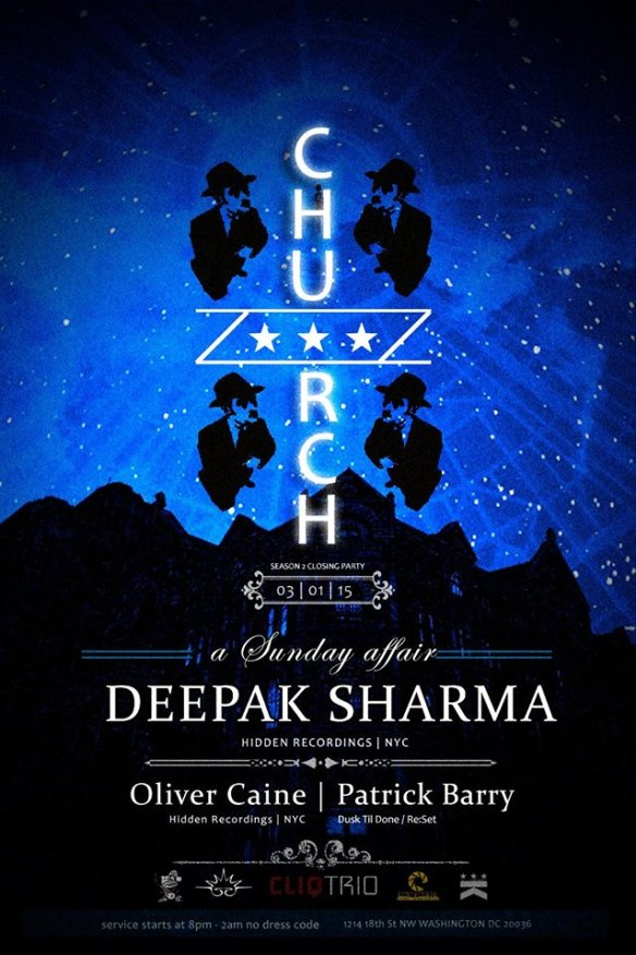 Shimul's Birthday Celebration: Church, with Deepak Sharma, Oliver Caine & Patrick Barry at Public Bar