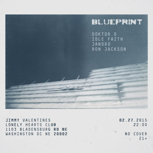 Blueprint - Round 2 with Jandro, Idle Faith, Doktor D & Ron Jackson at Jimmy Valentines Lonely Hearts Club