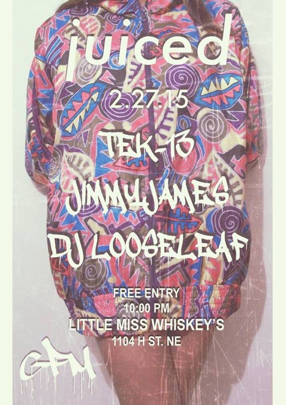 Juiced at Little Miss Whiskeys
