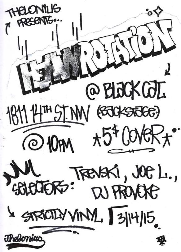 Heavy Rotation with DJ Provoke, Trevski & Joe L at The Black Cat