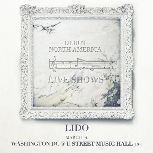 Lido with Alex Young, Louie Lastic & DJ Kidd Marvel at U Street Music Hall