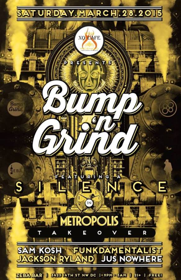 Bump 'n Grind: Silence in Metropolis Takeover at Zeba Bar