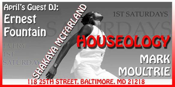 Houseology: Rebirth with Ernest Fountain & Mark Moultrie at St. Marys Restaurant & Bar, Baltimore