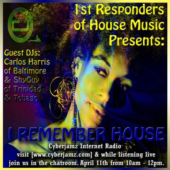 "1st Responders of House Presents: ""I Remember House"" - Online Listening Party"