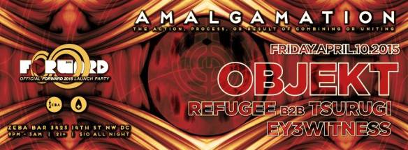 Amalgamation w/ OBJEKT (Extended Set) at Zeba Bar *Official Forward Preview Party*