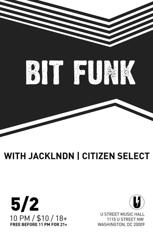 Bit Funk with jackLNDN, Citizen Select at U Street Music Hall