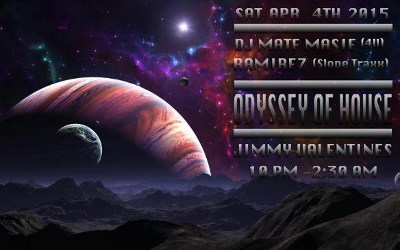 Odyssey of House with DJ Mate Masie (4U) and DJ Ramirez at Jimmy Valentine's Lonely Hearts Club