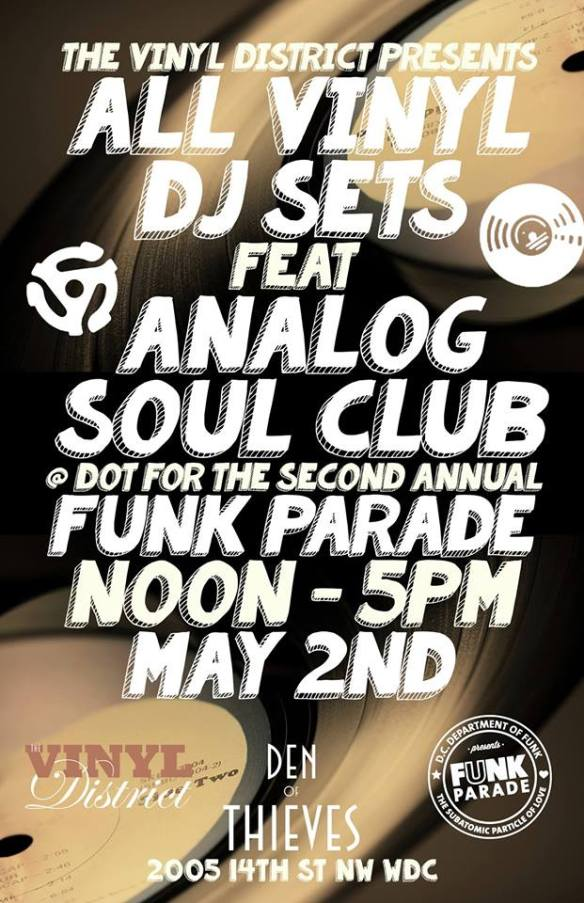 All Vinyl DJ Set For the  2nd Annual Funk Parade at Den of Thieves