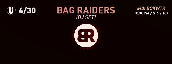 Bag Raiders (DJ Set) with BCKWTR at U Street Music Hall