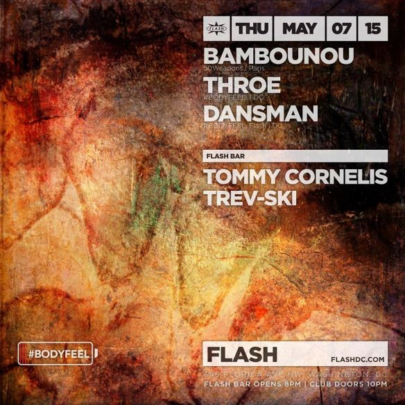 Official Forward Festival Pre-party ft. Bambounou, Throe B2B Dansman at Flash, with Tommy Cornelis & Trev-Ski in the Flash Bar