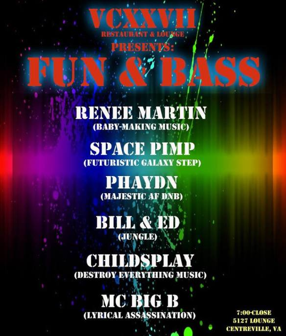 Fun & Bass at 5127 Restaurant & Lounge, Centreville