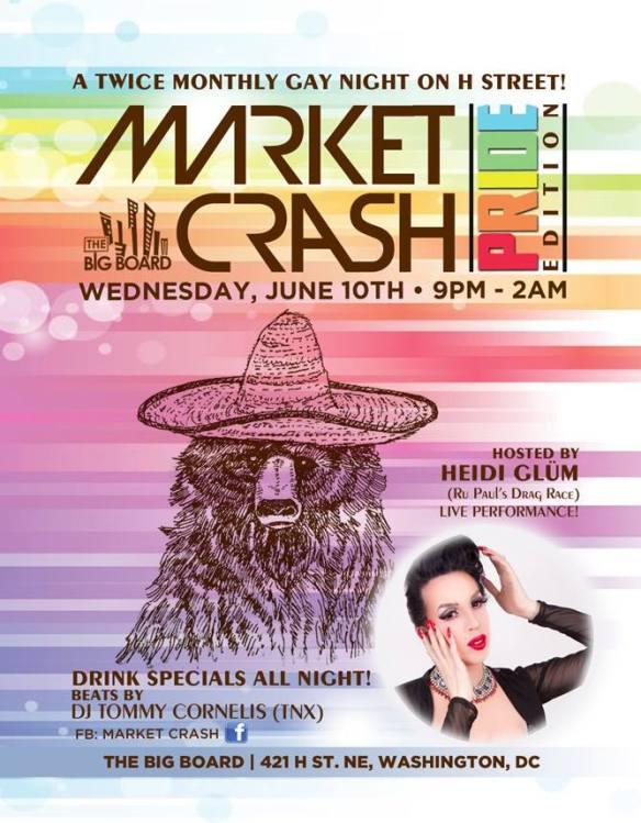 Market Crash - Pride 2015 Special Edition at The Big Board